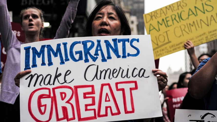 Immigrants contribution to shaping the USA and the whole world.